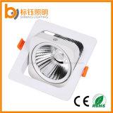 10W de alta calidad AC85-265COB V Indoor LED Empotrables de abajo de la luz de techo