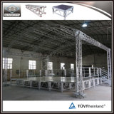 TUV устойчивого мобильного алюминия для продажи платформы стадии событий