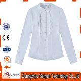Business Basic Formal Design Camisa feminina de algodão
