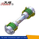 Accoppiamento flessibile di griglia con l'asta cilindrica lunga anziché gli accoppiamenti di Falk