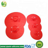 Pot de silicone et le bol de couvercles couvercles d'aspiration de la nourriture couvre en silicone