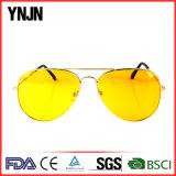 Visione notturna anabbagliante di giorno del metallo che guida gli occhiali da sole (YJ-W450)
