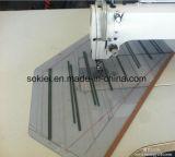 Modelo de computador Braço longo Usado Máquina de costura Overlock para tecido de calças de couro