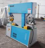 Diw Serien-hydraulisches Loch-lochende Maschine mit doppelter Kopf-/Kanal-Stahlausschnitt-Maschine