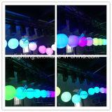 De LEIDENE Bal van de Lift, het LEIDENE Kinetische Systeem van de Verlichting, het Licht van de Bal van het Kinetische LEIDENE Pixel van DMX