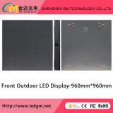 Tela de indicador ao ar livre do diodo emissor de luz da manutenção da parte dianteira da cor cheia para anunciar