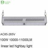 100W高い発電線形LED Highbayの軽いランプ