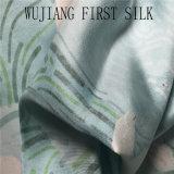 Tela de seda do Twill com a areia lavada. Tela de seda natural do Twill, tela de seda tingida contínua do Twill