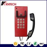 탁상용 고대 전화 Knzd-28 공공 봉사 전화 방수 전화