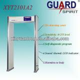 Precio de fábrica Zonas Multi altos decibeles de alarma del detector de metales puerta
