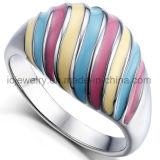 Acero inoxidable 316 Bisutería anillos de metal
