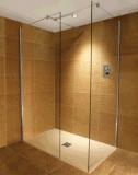 ليّن غرفة حمّام [8مّ] زجاجيّة [وترووم] وابل جدار ([بنورت10])