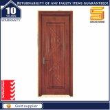 Porte en bois de pièce d'Intetrior de placage de teck en bois solide composé
