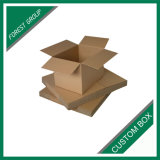 Коричневый Крафт гофрированной упаковки коробки