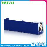 Aufbereitetes Fußboden-Sicherheits-Papier, das Bildschirmanzeige-Zahnstange für Kosmetik bekanntmacht