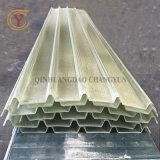 Painel de PRFV no rolo com camada de gel de rolos de plástico reforçado com fibra de vidro altamente brilhante