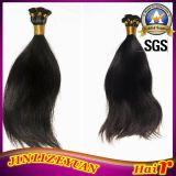 Droit naturel de 16 pouces main liée Indian Remy Hair trame