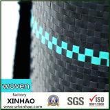Tissu de couvre-tapis tissé par PE de pp Weed d'usine