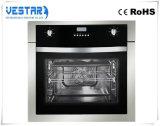 台所使用のための便利で黒い組み込みのオーブン