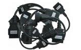 Adapter van de Kabels van de Vrachtwagen van Multidiag Tcs van de Kabels van de vrachtwagen de Kenmerkende Volledige Vastgestelde Cdp+ OBD2