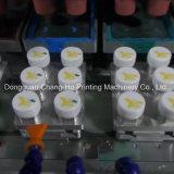 Bouchon de vase de quatre couleurs automatique machine de tampographie