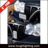 """6 """" rectangulaire de 24W 1800 Lumens Montage horizontal ou vertical hors-route des feux de travail à LED pour le camion vtt UTV"""