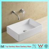 La porcelaine sanitaire Washtub Rectangle lavabo en céramique