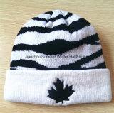 Bordados Stripe Hat Beanie Hat Chapéus de malha