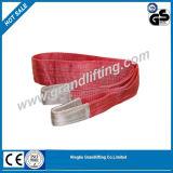 Imbracatura di sollevamento della fascia di sicurezza dell'imbracatura dell'estremità dell'imbracatura della tessitura del poliestere