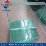 vidro laminado da segurança desobstruída de 10.76mm para o edifício