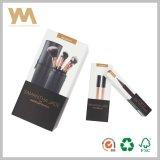 Carton blanc Kit brosses lèvre eye liner Boîte de papier de maquillage