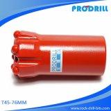 Продетый нитку T45-76mm бит кнопки для Drilling выдвижения