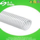 Tuyau d'aspiration de PVC/boyau en plastique flexibles boyau de l'eau/pompe aspirante