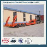 Китай 40 - 100t низкая кровать грузового прицепа