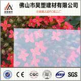 Folha contínua da película do PC do policarbonato para a iluminação da parede do telhado