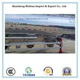 aanhangwagen van de Tanker van het Cement van de Legering van het Aluminium van 60cbm de Bulk met Assen Fuwa