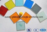 Espaço livre do vidro laminado da segurança da manufatura de China colorido