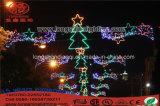 L'extérieur de la rue d'éclairage de Noël de luminaires décoratifs