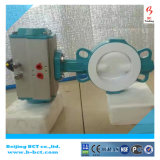 Wafer PTFE Soft Seal Motor EPDM Gear Válvula Borboleta Bct-F4bfv-1