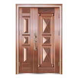 Goldfilm lamellierte Metallringe für Tür