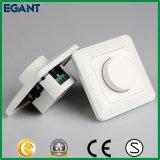 Interruptor ligero de tacto del amortiguador de cristal del panel