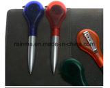 Популярный 2 в 1 функциональных пластиковых рекламных Рулетка шариковая