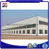 Almacén fabricado de la estructura de acero del bajo costo (Wokshop)