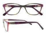 Frames van de Glazen van Eyewear van het Frame van de Acetaat van het Ontwerp van Italië de Optische Optische
