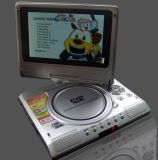 Lecteur de DVD portable 7 pouces avec chaînes Freeview enregistreur TV
