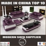 Echtes Leder-Miami-Art-Sofa-Set