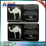 札入れの機密保護のためのカードを妨げるクレジットカードの保護RFID