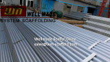 Oil&Gas Rig ERW Galvanized Scaffolding Steel Pipe