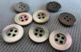 4つの穴の人の女性の衣服の服装および衣類のための環境に優しい貝ボタン