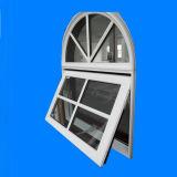 La parte superiore ha incurvato la finestra di alluminio della tenda con il disegno delle griglie